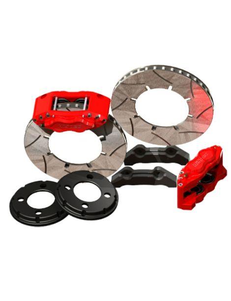 Kit gros freins avant HISPEC Road 310x28mm, étriers de freins 4 pistons BILLET 4 pour HONDA Civic / CRX (EG) 1991-1995
