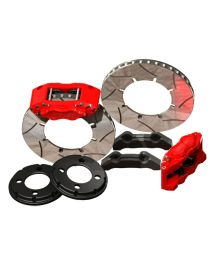 Kit gros freins avant HISPEC Road 325x28mm, étriers de freins 4 pistons BILLET 4 POUR VOLKSWAGEN Golf 4 (1997-2004)