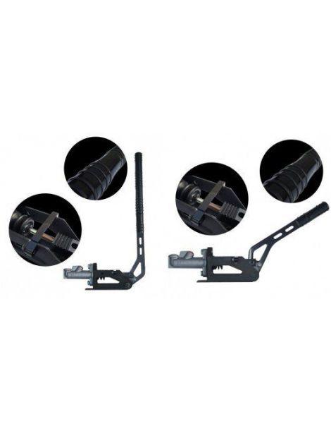 """Kit COMPLET frein à main hydraulique convertible HORIZONTAL/VERTICAL RRS avec maître cylindre et raccords JIC 3/8"""" (DASH3)"""