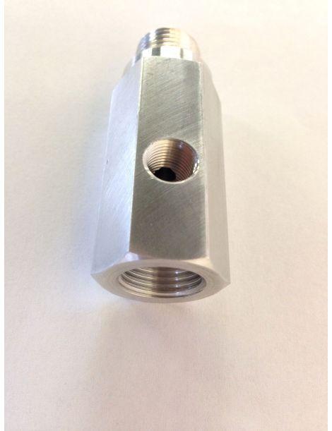B10-00819 NPT FEMELLE CLOISON-O//D en MM 6 x NPT Filetage Femelle 1//4