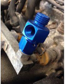 "Adaptateur PEUGEOT 205 309 GTI sonde pression essence M14X150 avec taraudage sonde 1/8"" NPT"
