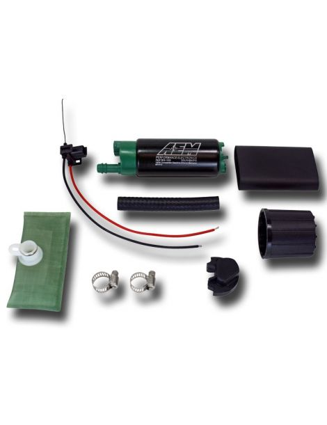 Pompe à essence E85 AEM 320L/H spécial éthanol E85 référence 50-1200