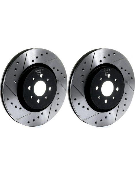 MINI Cooper S Works R56/ Clubman R55 JCW Disques de freins avants TAROX rainurés/percés 316x22mm