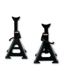 Kit 2 chandelles à crémaillère acier 3T - Hauteur d'utilisation : 295 à 425mm