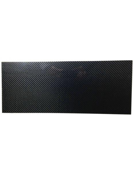 Plaque carbone 200 x 500 x 2mm
