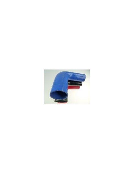 38-45mm - Réducteur silicone 90° 3 plis REDOX