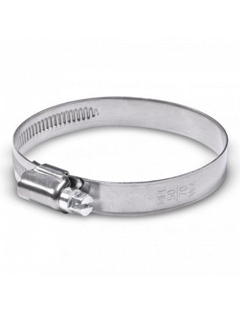 50-70mm - Collier de serrage inox largeur 12mm
