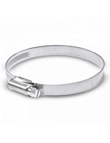 70-90mm - Collier de serrage inox largeur 12mm