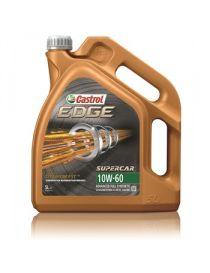 Huile Castrol Edge SUPERCAR 10W60 - Bidon 5L