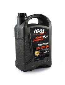 Huile moteur IGOL Race Factory Compétition 10W60 - Bidon 5L