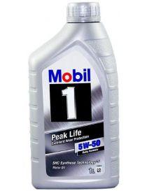 Huile MOBIL M1 Peak Life 5W50 - Bidon 1L