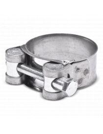 40-43mm - Collier renforcé en acier chromé, visserie zinguée