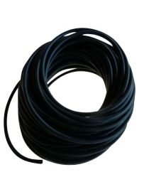 Bobine (rouleau) de tuyaux de dépression 4mm NOIRE de longueur 20 mètres
