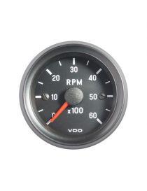 Compte tours VDO 0-6000 tr/min pour moteur Diesel