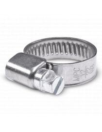 12-22mm - Collier de serrage inox largeur 9mm