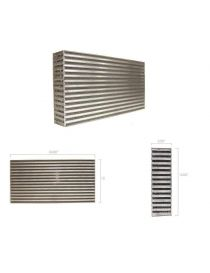 "Faisceau intercooler GARRETT 24x12.1x3"" (610x305x76mm)"