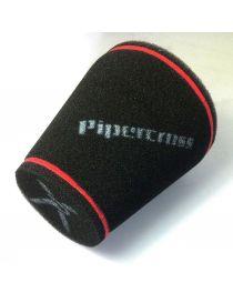 Filtre PIPERCROSS avec chapeau mousse, connexion caoutchouc diametre: 76mm, diametre exterieur: 150mm, longueur: 190mm
