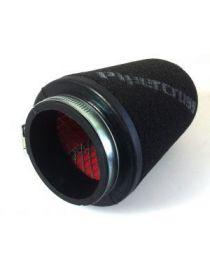 Filtre PIPERCROSS avec chapeau mousse, connexion caoutchouc diametre: 100mm, diametre exterieur: 150mm, longueur: 190mm
