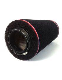 Filtre PIPERCROSS avec chapeau mousse, connexion caoutchouc diametre: 100mm, diametre exterieur: 200mm, longueur: 400mm