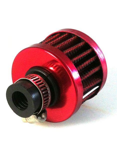 Filtre reniflard rouge connection diamètre 12mm