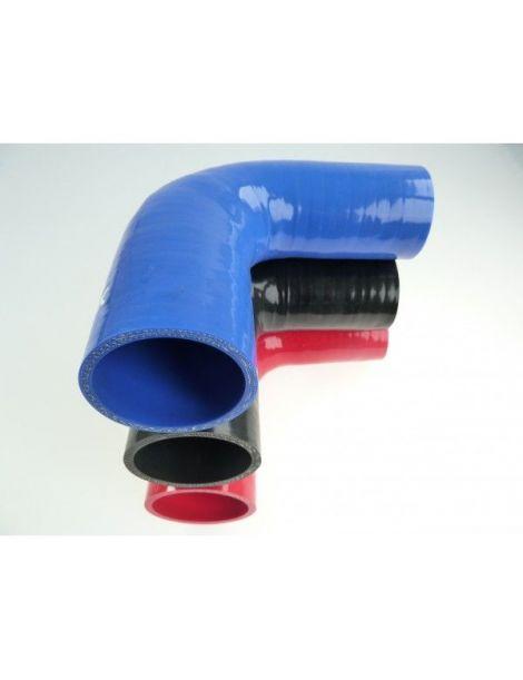 45-51mm - Réducteur silicone 90° 4 plis REDOX
