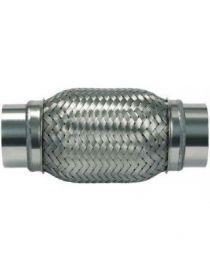 Flexible échappement inox diamètre intérieur 52,5mm longueur 370mm