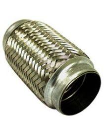 63.5mm - Flexible échappement inox longueur 152mm
