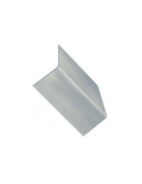 Contre plaque 100x120x3mm développée, pliée à 90°,homologué FIA