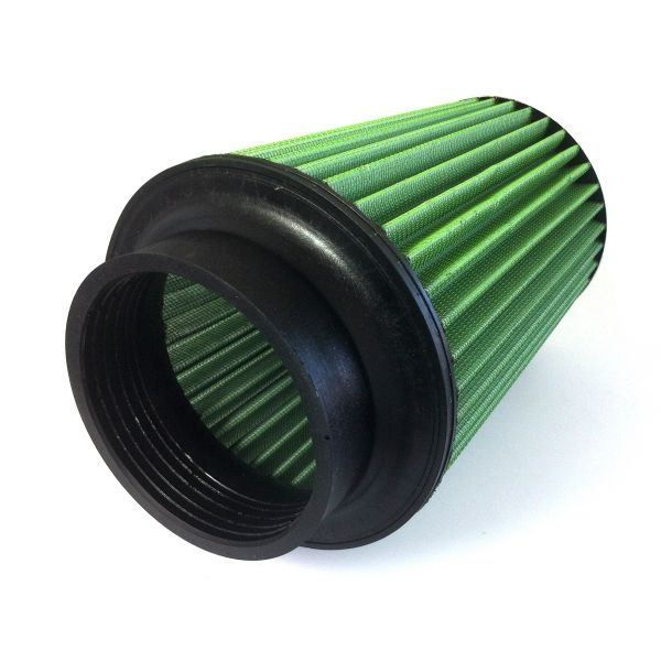 entr e 55mm base 140mm top 100mm hauteur 130mm filtre air bi c ne green air filter. Black Bedroom Furniture Sets. Home Design Ideas