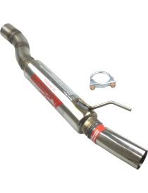 Silencieux inox Groupe N RC RACING reference ET227-GN