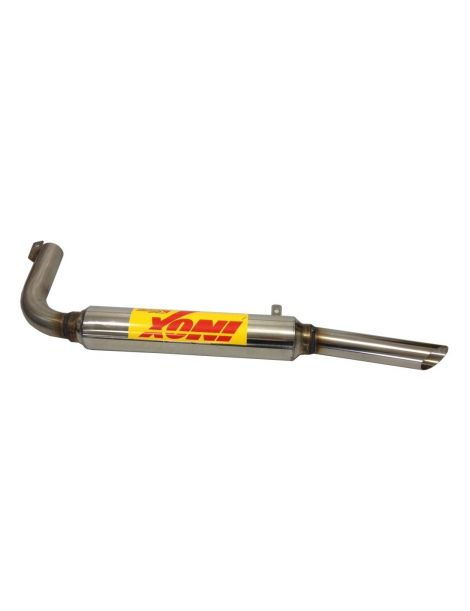 Silencieux inox Groupe N RC RACING reference ET76-GN