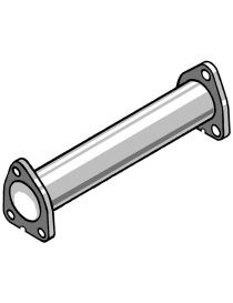ROVER 45 2.0TDI 99- Tube afrique / Décatalyseur inox RC RACING