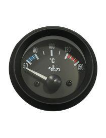 Manomètre température huile TORR 50-150°C fond NOIR