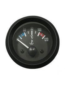 Manomètre température eau TORR 40-120°C fond NOIR