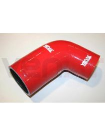 Durite air silicone suralimentation VENAIR, reference 600001150979 - coloris ROUGE