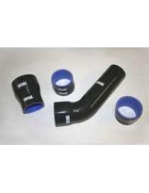 Kit 4 durites air silicone suralimentation VENAIR, reference 600001170791 - coloris NOIR