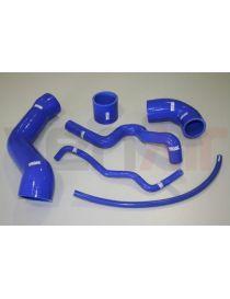 Kit 6 durites air silicone suralimentation VENAIR, reference 600001100095 - coloris BLEU