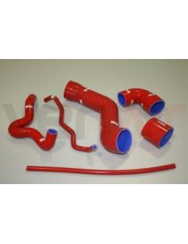 Kit 6 durites air silicone suralimentation VENAIR, reference 600001100164 - coloris ROUGE