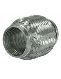 Flexible échappement inox diamètre intérieur 63,5mm longueur 100mm