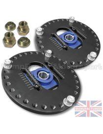 FORD Escort Cosworth Coupelles amortisseurs avants rotulées réglables (LA PAIRE)