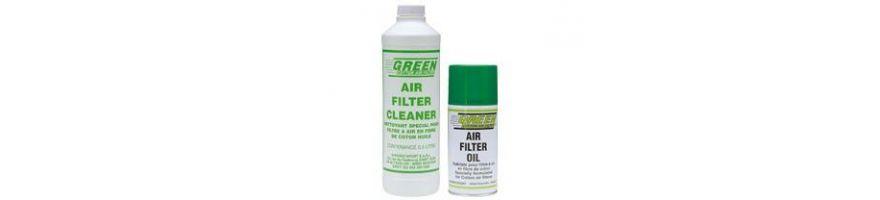 Produits d'entretien pour filtres à air