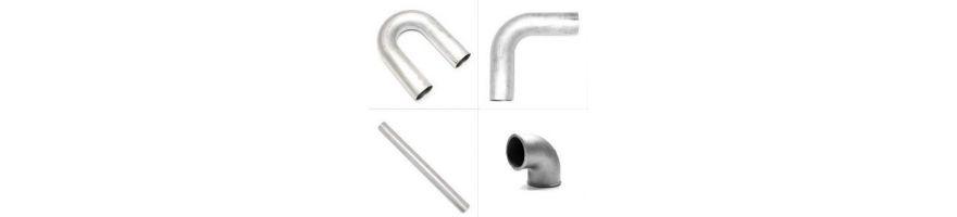 Aluminium EAU : coudes, tubes, manchons et tés