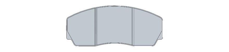Plaquettes pour étrier HISPEC RS132-4