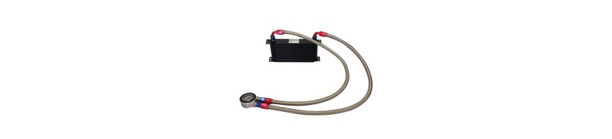 Kit radiateur huile universel