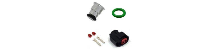 Prises, adaptateurs et joints d'injecteur