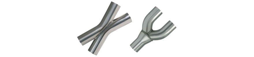 X-Pipe / 2 en 1 inox