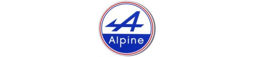 ALPINE - Plaquettes pour étriers d'origine