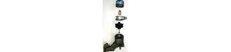 Adaptateur montage radiateur - filtre à huile à cloche