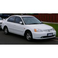 HONDA Civic Coupe MK VII - Amortisseurs SPORT Ressorts courts