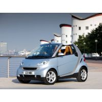 SMART Fortwo Cabrio A451 - Amortisseurs SPORT Ressorts courts